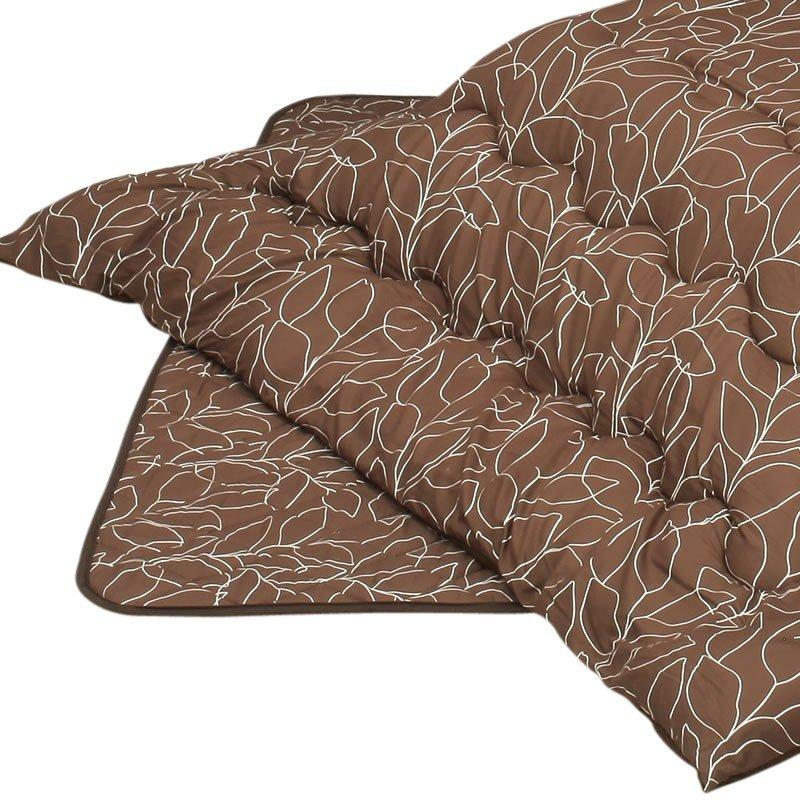 こたつ布団セット 長方形120巾コタツ用 長方形用こたつ布団(掛敷セット) 厚掛 抽象的木の葉120