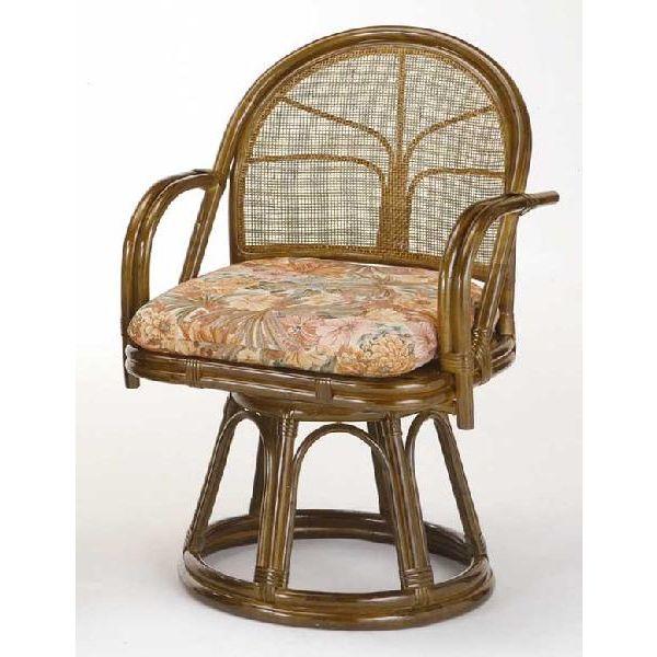 回転籐椅子 ラタンチェアーハイタイプ 座椅子 s304b