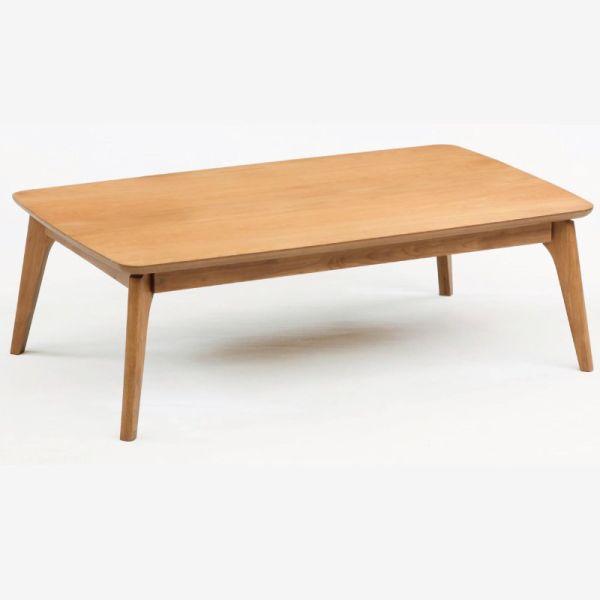 テーブル こたつテーブル コタツ モダンこたつ アルファ105 長方形105幅 L-040