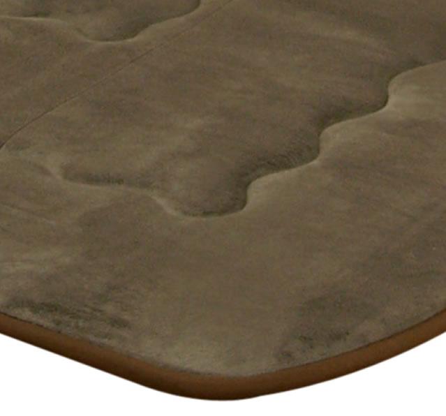 長方形こたつ敷ふとん /カーペット・ラグ(ふっくら敷)/190×290サイズ /ブラウン色 /フィーラ