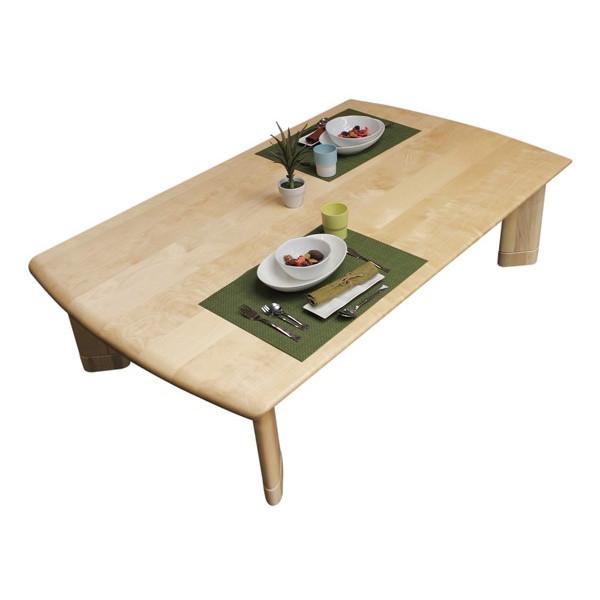 こたつ コタツテーブル 長方形135巾 継脚構造 モダンタイプ 北斗(ほくと)KR 国産品