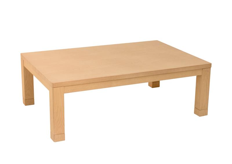 《お盆期間中も発送が出来ます》こたつテーブル コタツ テーブル モダンこたつ 渚120NA 長方形120幅 あす楽対応