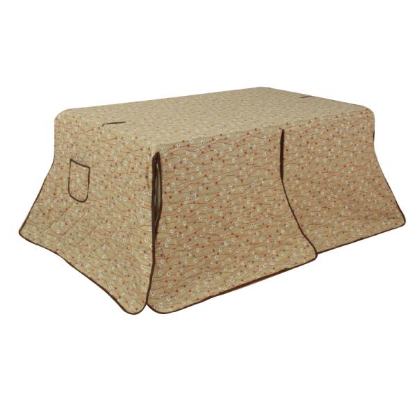 ハイタイプ高脚こたつ布団 ダイニングコタツふとん 長方形150センチ幅こたつテーブル用 KF323