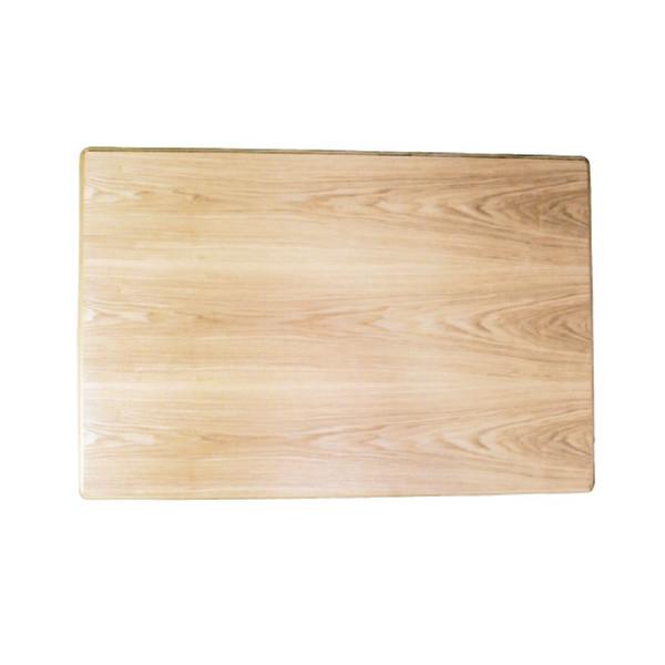 コタツ板 こたつ天板 120×80センチ長方形 国産品(日本製)片面仕様 天然杢タモ突板