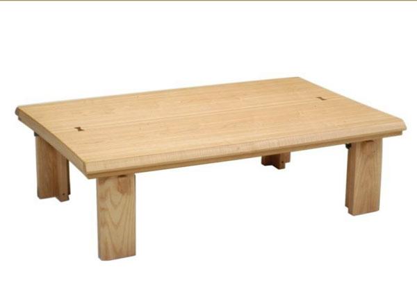 こたつ コタツテーブル 120センチ巾長方形こたつテーブル 天然杢 NAGOMI-120NA 安心、信頼の国産品(日本製)です。