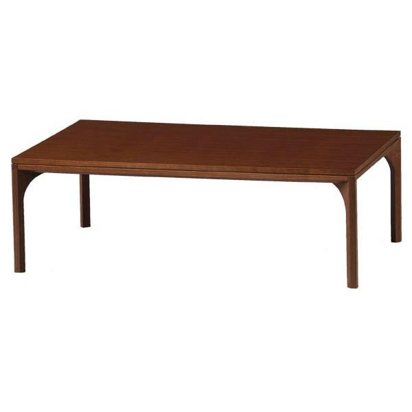 こたつ コタツテーブル 長方形120巾 モダンこたつ 天然杢ウォールナット突板 NEW MADERA(ニューマデラ)120 ウォールナット《申し訳ございません 欠品中です》