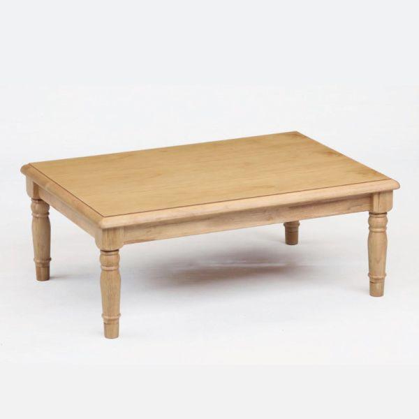テーブル こたつ 洋風(カントリーデザイン)こたつ ロデオ120 長方形120幅 L-047