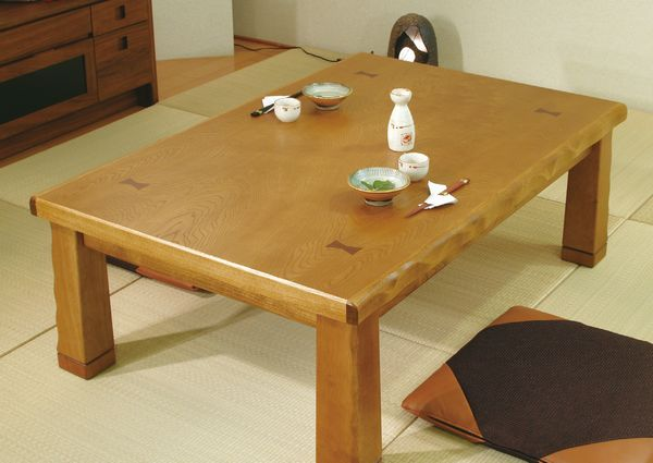 国産新和風家具調こたつ コタツテーブル 120巾、長方形 四万十(しまんと)安心、信頼の国産品(日本製)です。