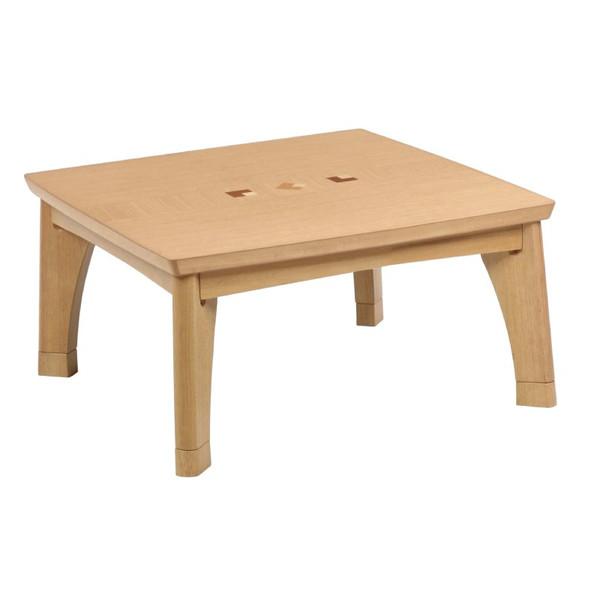 こたつテーブル コタツ モダンこたつ タント80 正方形80幅 L-028