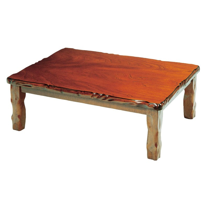 こたつ コタツテーブル 長方形120巾 家具調コタツ 天然120