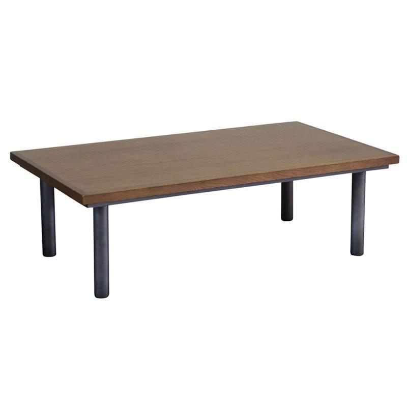 こたつテーブル 120幅長方形 BB120 天然杢ゼブラウッド突板 コタツ 国産品