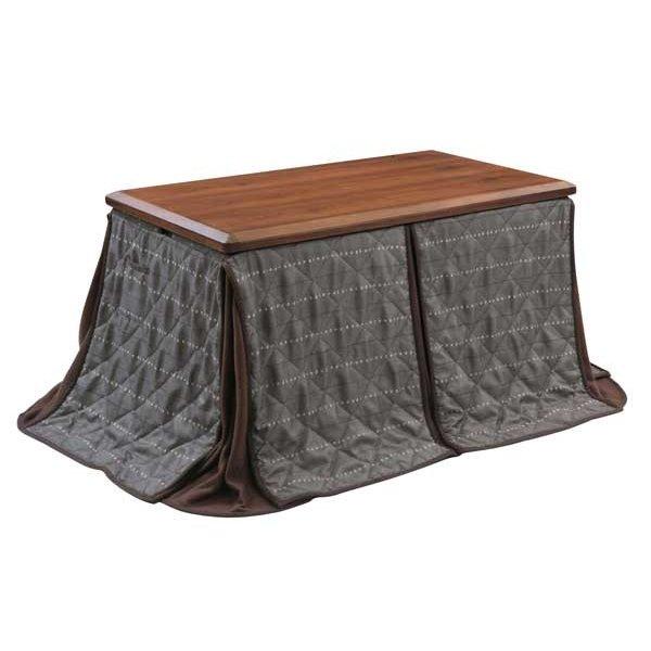 ダイニングこたつ布団 長方形120巾コタツ用 ビートル120 ハイタイプ高脚用薄掛け布団