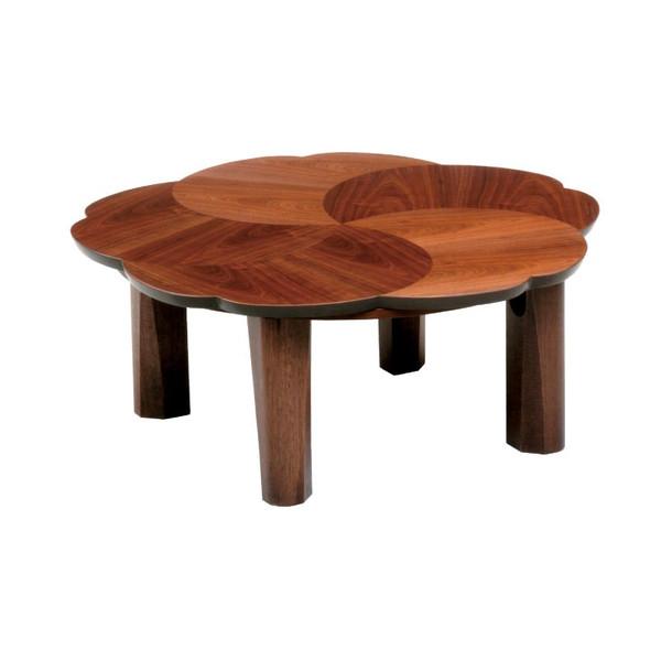 こたつ コタツテーブル モダンタイプ折れ脚こたつ 90巾変型 ブロッサム90