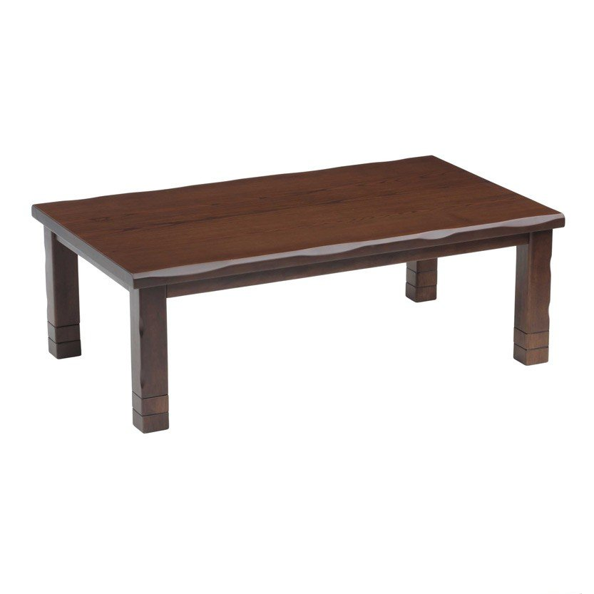こたつテーブル 長方形幅135センチ 葉月(はづき) 家具調コタツ ローテーブル