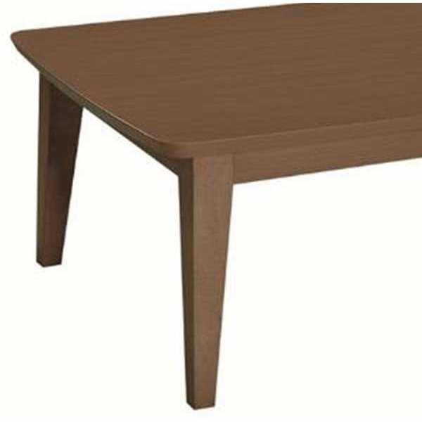 こたつテーブル 正方形75センチ角 ジェット 家具調コタツ ブラウン色 ローテーブル