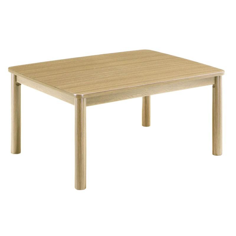こたつ モダンコタツテーブル カジュアル80×60 小型長方形80幅 ライトブラウン色