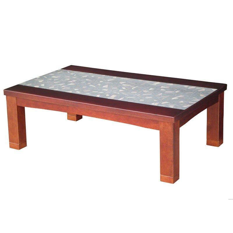 こたつテーブル 和紙張り 長方形幅120センチ 樹の海 ローテ-ブル コタツ 日本製
