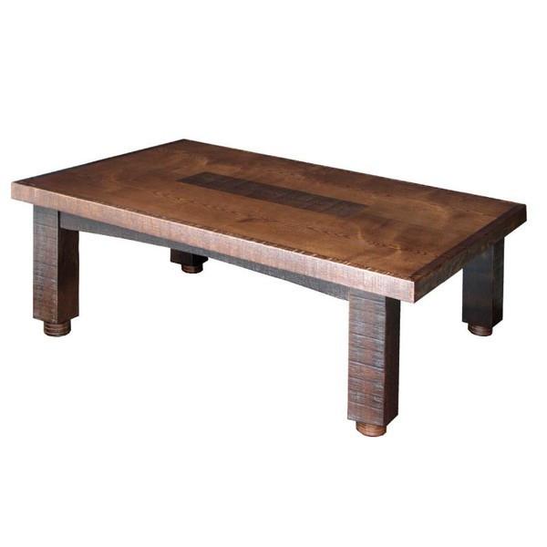 コタツテーブル こたつ 国産コタツ105 タモ材 うづくり仕上げ