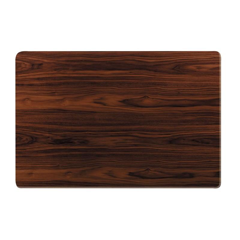 和風コタツ板 こたつ天板のみ 120×80センチ長方形 国産品(日本製)片面仕様 天然杢ウォールナット突板