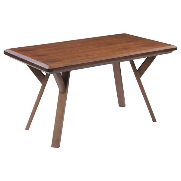ハイタイプ高脚こたつ/ダイニングコタツ こたつテーブル、ビートル120センチ幅、長方形 ダークブラウン色