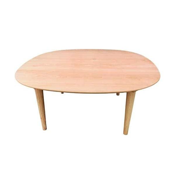 正方形家具調国産こたつテーブル オールシーズンコタツ 90センチ正方形 オーガII サクラ