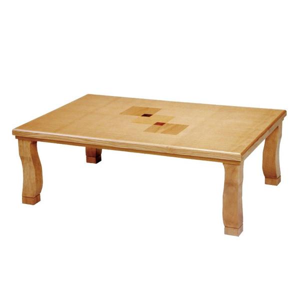こたつ コタツテーブル 長方形120巾 家具調コタツ 織姫120