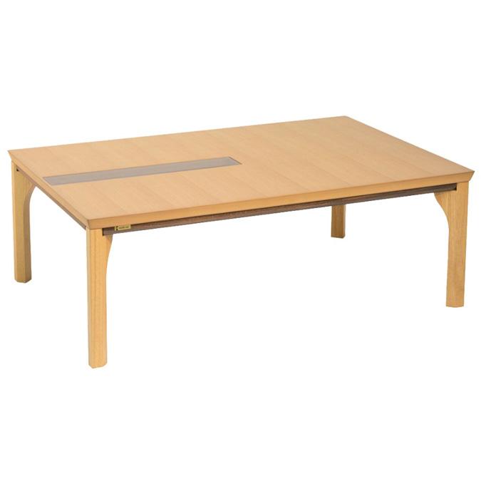 こたつ コタツテーブル オールシーズンコタツ 長方形120巾 家具調コタツ オスカー