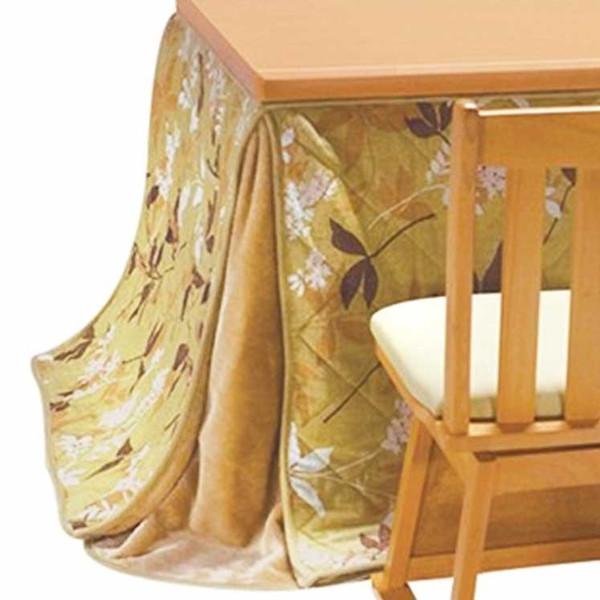 ハイタイプ高脚/ダイニングこたつ布団 正方形80×80巾コタツ用 プライム80 薄掛け布団