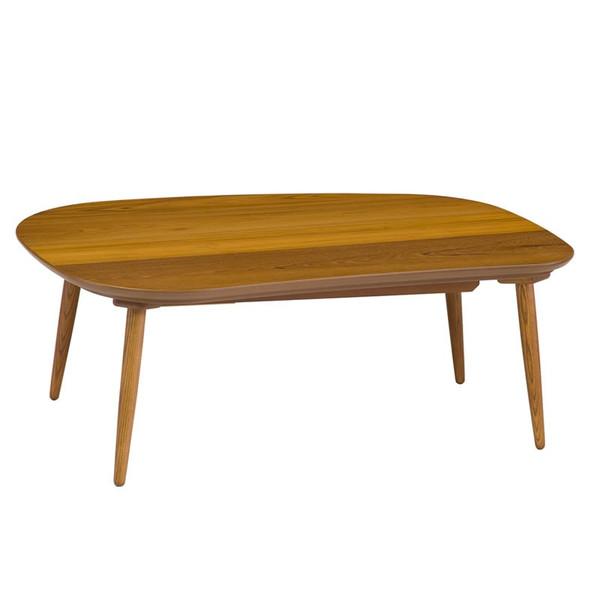 ラスモチーク120 国産品 モダンタイプ こたつ コタツテーブル 変形120幅