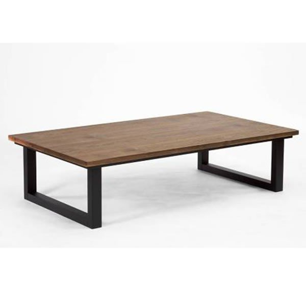 こたつテーブル 150幅長方形 サイ(SAI)2 ウォールナット150 天然杢ウォールナット コタツ 国産品