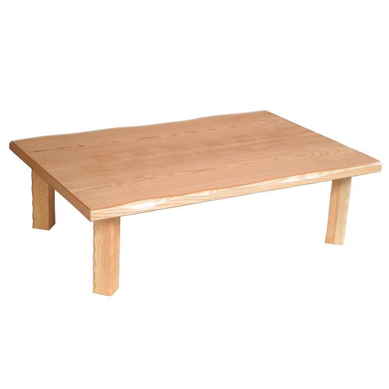折れ脚座卓テーブル 長方形幅105センチ 集(つどい) ローテ-ブル ちゃぶ台 日本製