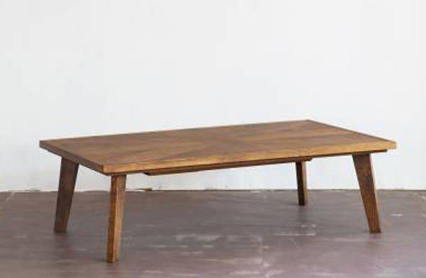 こたつテーブル 120幅長方形 ユーケー2(UkII)120 天然杢オーク突板 コタツ 国産品