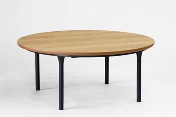 こたつテーブル オールシーズン家具調コタツ 円形105巾 ウェルズ(WELLS)105丸 国産品