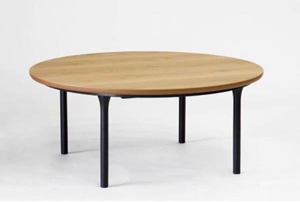 こたつテーブル 円形90巾 ウェルズ(WELLS)90丸 オールシーズン家具調コタツ 国産品