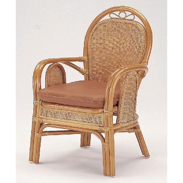 籐椅子 ラタンダイニングアームチェアー