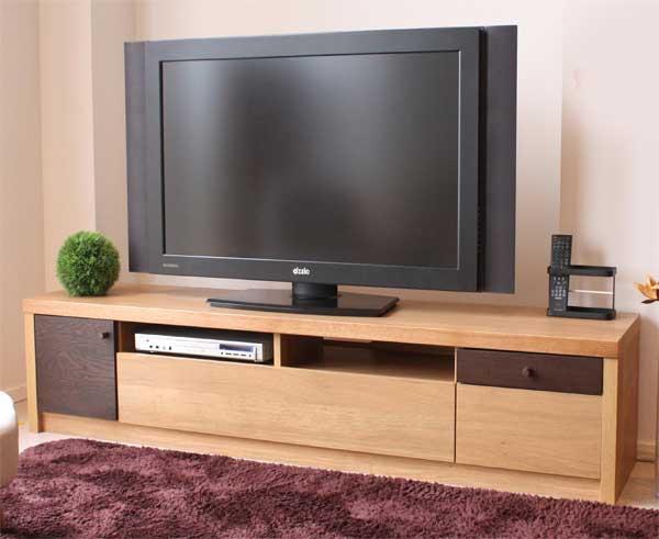 木製テレビボード180センチ幅 HOMA(ホマ) ナチュラル色 完成品 安心、信頼の国産品(日本製)