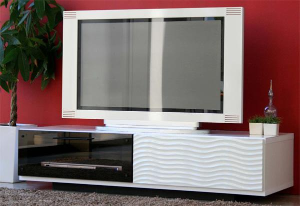 木製テレビ台120センチ幅 モダン北欧デザイン 完成品 SU120ローボード シュール