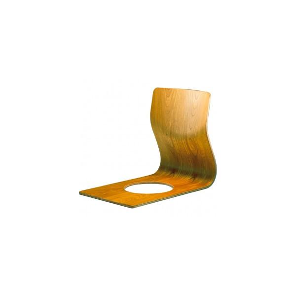 和風座いす シンプル曲げ木座椅子 完成品 国産品(日本製) 天童木工 ザイス 座いす