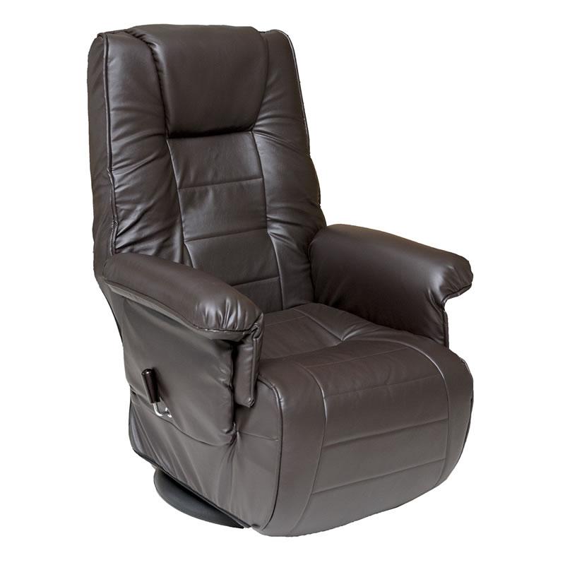 座いす 座椅子 肘付きリクライニング高座椅子 MT-1500GS ダークブラウン色