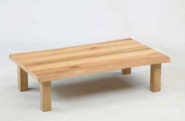 座卓 ローテーブル 180巾長方形 ナチュラルタイプ 座卓テーブル オーク節有り突板 あずみ180