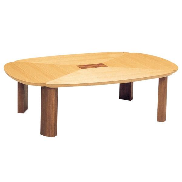 ローテーブル 座卓 座敷机 ちゃぶ台 折れ脚モダンタイプ座卓 120巾変型 グレコ120 日本製