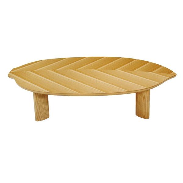 ローテーブル ちゃぶ台 座卓 座敷机 モダンタイプ座卓 150巾変型 一葉150
