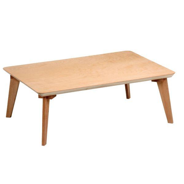 長方形座卓 ローテーブル ちゃぶ台 105巾 KABAZAKURA-105 樺桜(かばざくら)