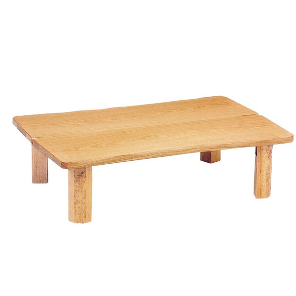ローテーブル ちゃぶ台 座卓 座敷机 モダンタイプ座卓 135巾長方形 木の国135