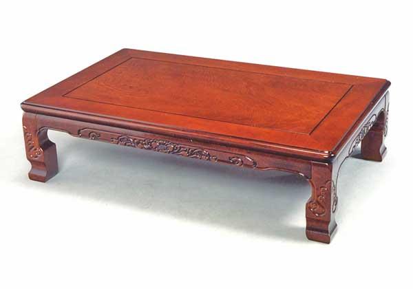 折れ足和風座卓テーブル ちゃぶ台 座敷机 天然杢 120センチ巾 ケヤキ色 安心安全の国産品(日本製)です