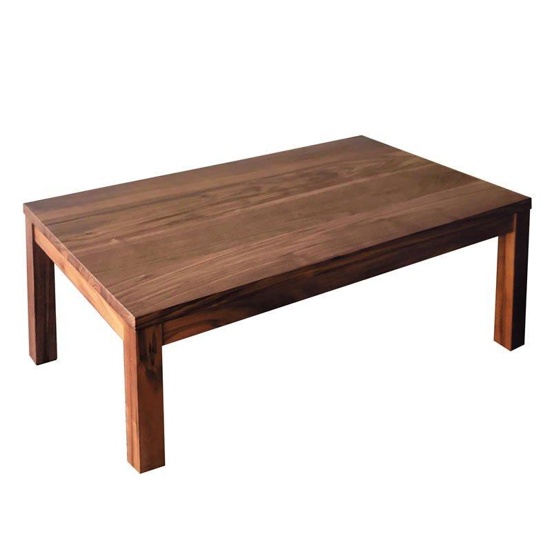 座卓テーブル 長方形幅100×60センチ ムーク ローテーブル ちゃぶ台 日本製