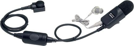 【送料無料】《CMP816》(スタンダード/タイピン付きマイク&イヤホン)ノイズキャンセリング対応 特定小電力無線機用