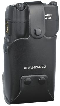 スタンダードの純正品 無線機を汚れや衝撃から保護するケース 対応機種:HX835P 《CLC835P》 スタンダード お得クーポン発行中 用 特定小電力無線機 記念日 HX835P キャリングケース 多人数同時通話