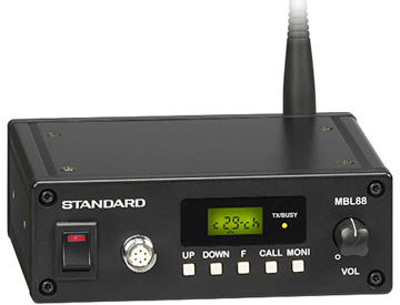 《MBL88》(スタンダード/特定小電力無線車載機)同時通話型車載トランシーバー
