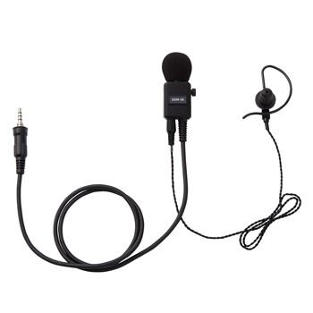《SSM-58BTA》(スタンダード/耳かけ式カナル型/イヤホンブラック ヘビーデューティータイピンマイク&イヤホン)イヤホン交換可能 八重洲無線/スタンダードホライゾン